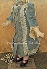~~~ Superb French Silk Costume for Jumeau or Bru Bebe ~~~