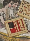 Rare French Tiny Miniature Poupee Sewing Necessaire