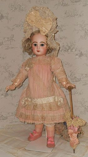 Superb French Bisque Bebe by Jumeau in Fantastic Costume