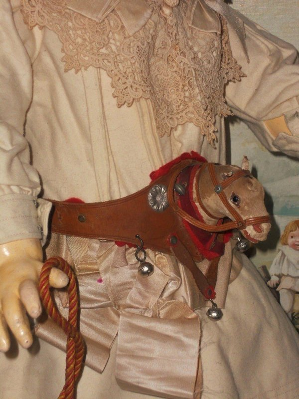 ~~~ Rare French Toy Horse Head Harness ~~~