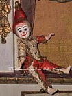 Rare Factory Original French Bisque Clown by Jules Steiner