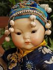 ~~ Rare all Original Oriental Baby Doll by Kestner ~~~