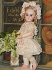 ~~~ Lovely Antique French Market DEP Bisque Bebe ~~~