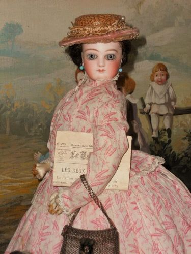 ~~~ Jumeau French Portrait Bisque Poupee in fine original Condition ~~