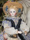 "~~~ Rare all Original French Poupee by "" Leon Pannier "" ~~~"