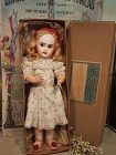 Rare Lever Eye Bebe Jumeau in Original Department Store Presentation