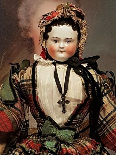 ~~~ Outstanding early Porcelain Boy with original Dress ~~~