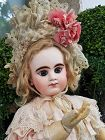 Superb Rare First Period French Bisque Bebe Girl by Denamur