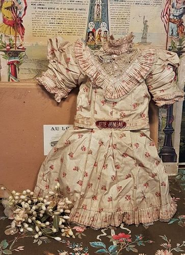 ~~~ Rare Factory Original Chemise from Maison Jumeau in Box ~~~