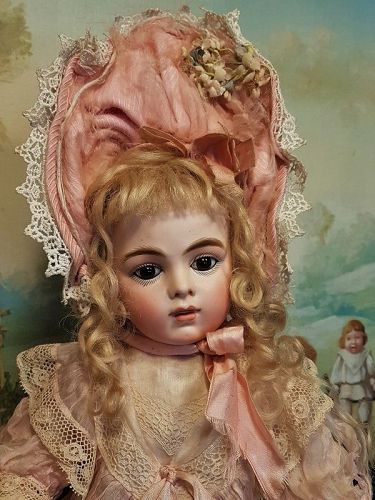 ~~~ Angel Face French Bru Jne. Bisque Bebe by Leon Casimir Bru ~~~