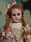 ~~~ Lovely Antique French Jumeau Mark Bisque Bebe ~~~