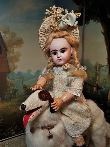 ~~~ Lovely French Bisque Bebe Girl by Denamur ~~~
