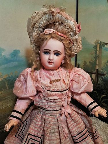Rare Bisque Bebe Printemps by Jumeau Factory Special Series / 1890