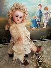 ~~~Lovely Little French Bisque Bebe Girl by Denamur ~~~