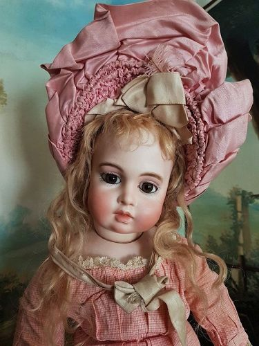 ~~~ Lovely French Bisque Bebe by Leon Casimir Bru ~~~