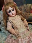 Lovely French Bisque Bebe by Jumeau Attic Condition