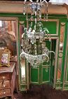 ~~~ Magnificent 19th. Century Luxury Miniature Glass Chandelier ~~~