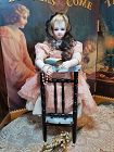 ~~~ Rare Wooden Prayer Doll´s Chair / France circa 1875 ~~~