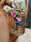 ~~~ Rare French Poupee Bird Fly Cage / 1880 ~~~