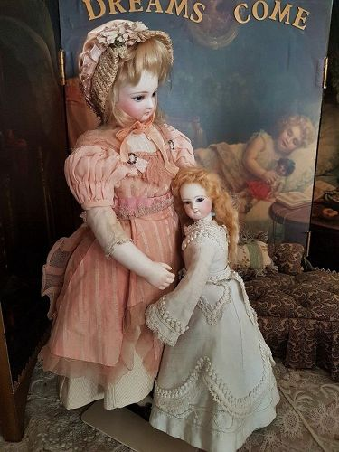 Petite French Teenager Poupee by Maison Jumeau in Original Condition