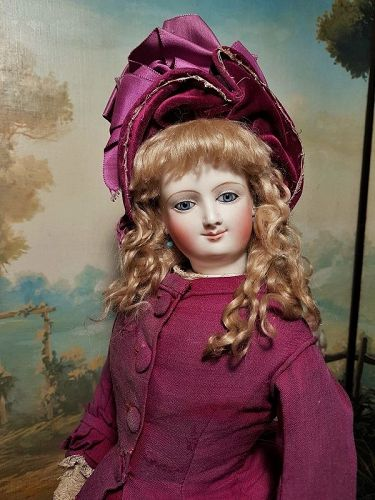 ~~~ Marvelous Large Smiling Poupee by Leon Casimir Bru ~~~