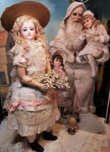 """~~~ First Period 26 """" French Bisque Poupee by Gaultier / 1870 ~~~"""