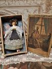 ~~~ Rare Early Grodnertal Wooden Doll in Original Box ~~~