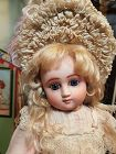 Rare French Factory Original Bisque Bebe Series C Steiner