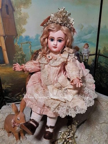 ~~~Rare French Bisque Bebe by E.L. Douillet ... France circa 1890 ~~~