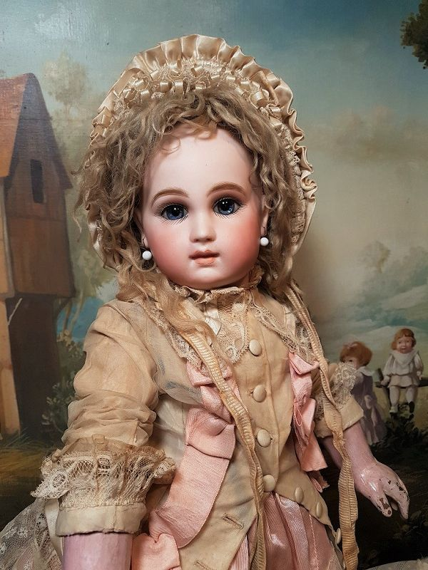 Very Beautiful Early Rare French Schmitt et Fils Bebe
