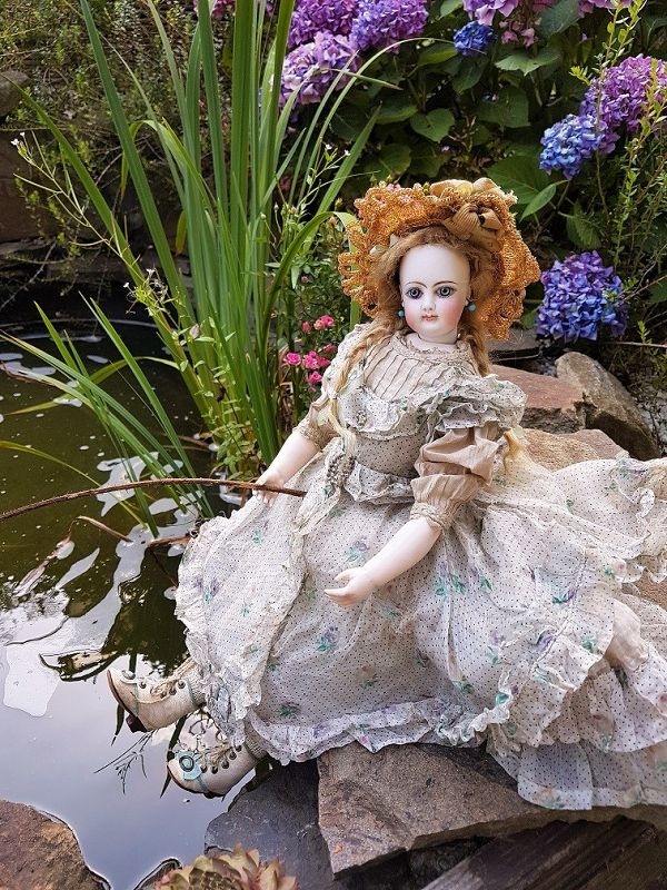 """~~~ Rare French Bisque Poupee by """" Simon """" Paris Doll Boutique ~~~"""