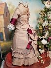 "Stunning rare Antique Lady´s Ensemble from circa 1870 th. for 22""/23"""