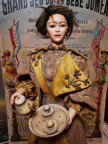 "~~~ Rare French Musical Automaton by Lambert "" Chinoise Verseuse "" ~~~"