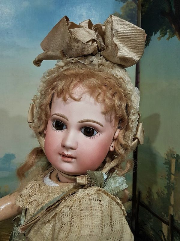 ~~~ Gorgeous French Bisque Portrait Bebe by Jumeau ~~~