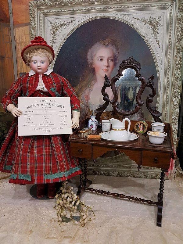 ~~~ Maison Alph. Giroux rare French Dressing Table ~~~