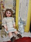 Pretty all Original French Bisque Bebe Jumeau with Box