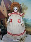 ~~~ 1860th. Linen Huret Style Pinafore ~~~