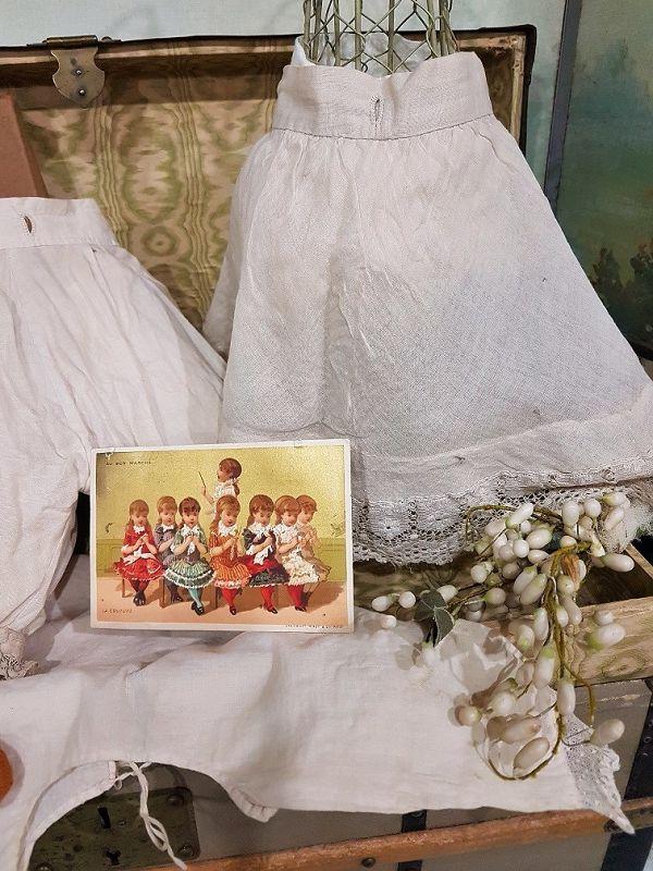 ~~~Rare Original French Bebe Lingerie Ensemble in Store Box~~~