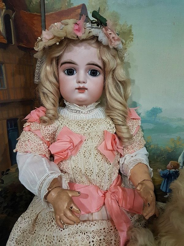 ~~~ Beautiful French Bisque Bebe by Gaultier ~~~