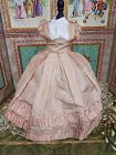 Rare Huret era. 1855/ 60 Enfantine Silk Costume for Huret , Rohmer .