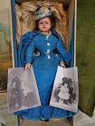 Rare Family Heirloom early English Wax Doll with History & Provenance