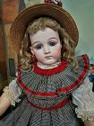 Beautiful French Portrait Bisque Bebe from Maison Jumeau / 1878