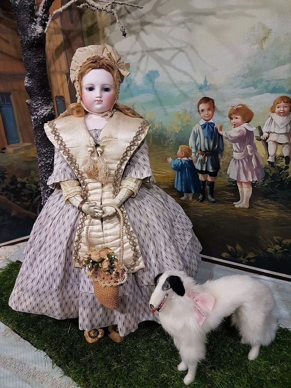 ~~~ Beautiful Early French Parisienne Poupee .... circa 1860~~~