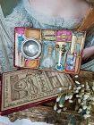 ~~~ Rare Bebe Nursing Set in Presentation Box from 19th. Century ~~~