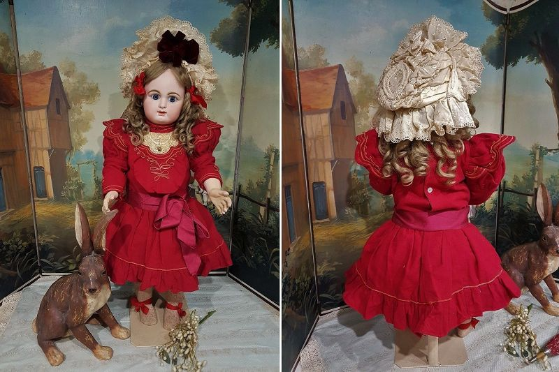 ~~~ Lovely Expression French Bisque Bebe by Rabery and Delphieu ~~~