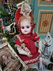 ~~~ Childlike Cabinet size French Mystery Bebe with Shy Expression ~~~