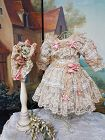 ~~~ Beautiful French Bebe Costume with Bonnet ~~~