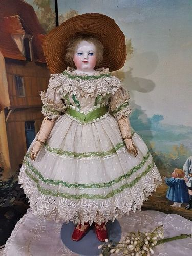 Exquisite Costume for Huret era Poupee in Mademoiselle Bereux Style