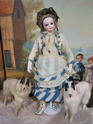Rare French Teen Poupee with Herbillon Body from Paris Doll Store