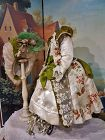 ~~Stunning French Silk BeBe Costume with Bonnet / Jumeau Costume ~~